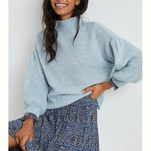 NWT! Anthro Maeve Betty Puff-Sleeved Sweater